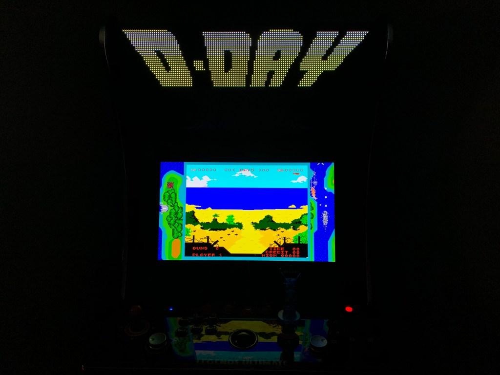D-Day running on the Legends Ultimate with PixelcadeX