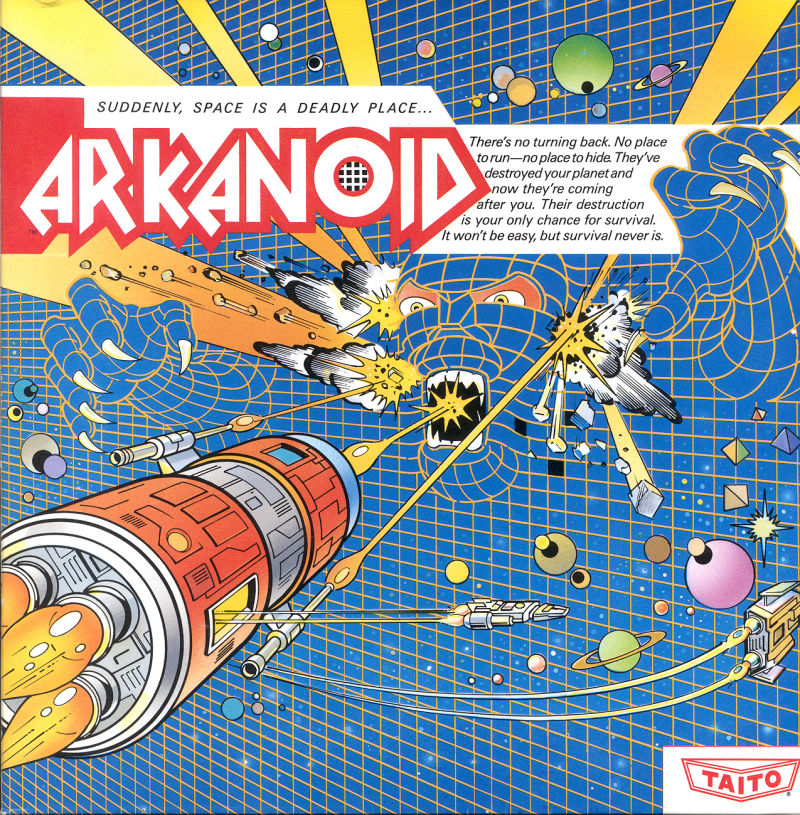 Arkanoid is just one of several potential upcoming virtual pinball tables.