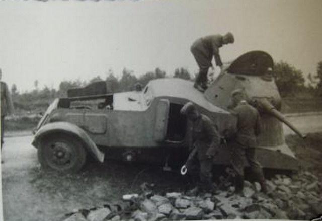 BA I BA 3 BA 6 BA 10 BA 11 Soviet Wheeled Tanks For