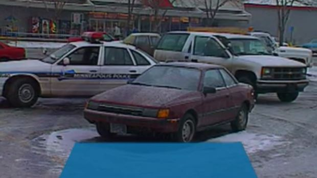 Anne's car found in the Lake Street Kmart parking lot.