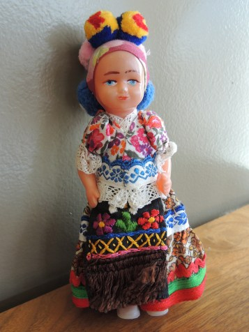 Vintage Hungarian doll