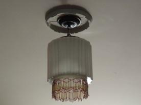 This Art Deco light fixture caught my eye.