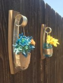 Wine Barrel Ring Flower Vase