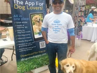 Social Media Campaign and Event Marketing for Dingo the Dog App