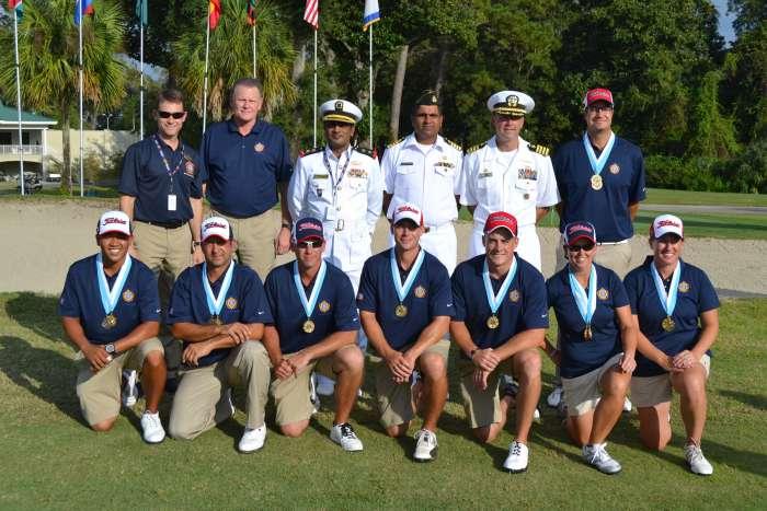 2012 CISM Golf Results