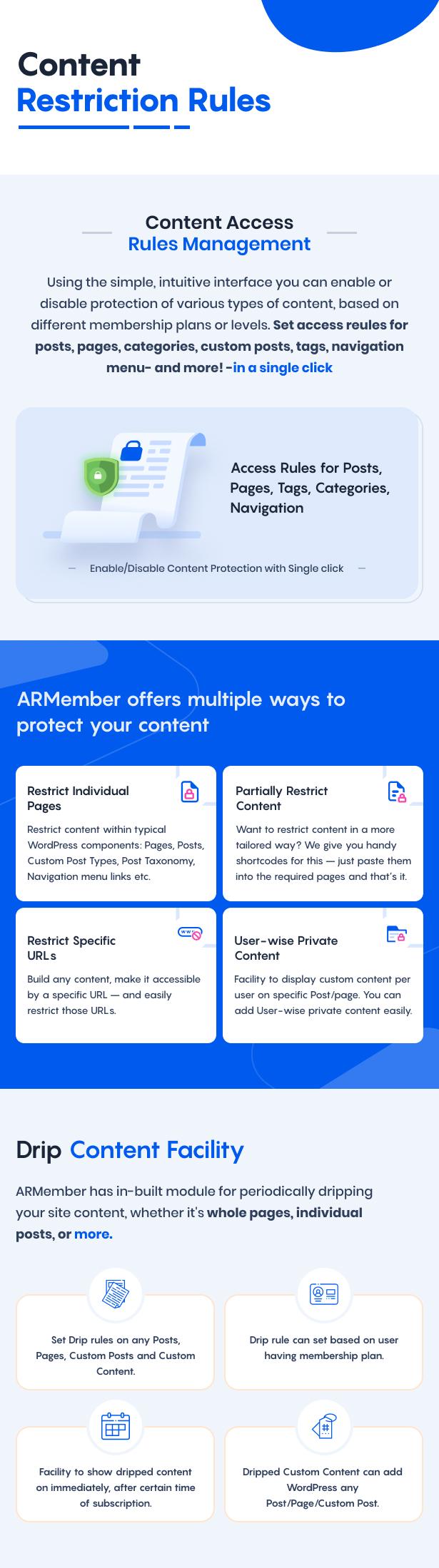 ARMember - WordPress Membership Plugin - 13