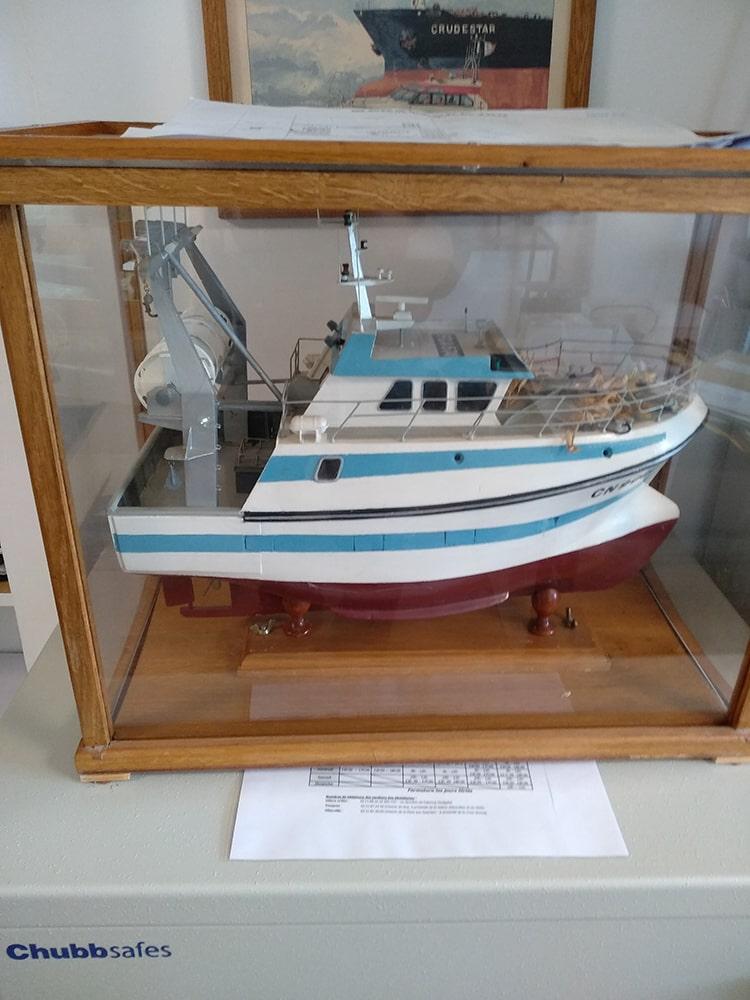 maquette bateau La Persévérance