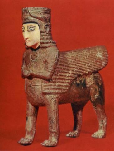 Urartian sphinx