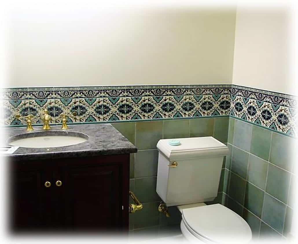 Best Kitchen Gallery: Bathroom Tile Design Ideas Tile Murals Balian Tile Studio of Bathroom Tile Design  on rachelxblog.com