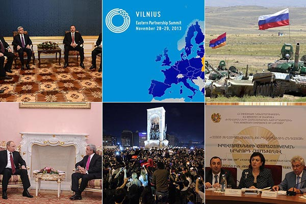Armenian Foreign Policies 2013: Customs Union, U-turn on EU accord, Karabakh, Turkey, regional developments