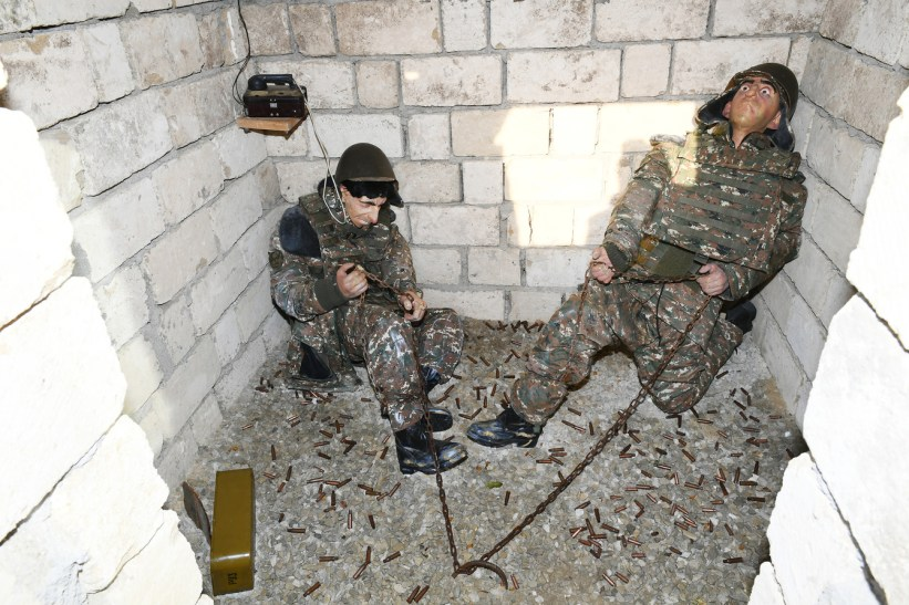 Azerbaijan opens Military Trophies Park memorializing its war crimes