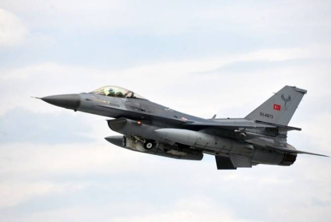 Turkish Air Force F-16s deliver air strikes at Artsakh, radio communications recorded