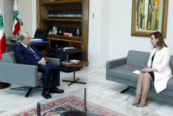 Lebanese President holds meeting with Minister of Youth and Sport ahead of her upcoming visit 