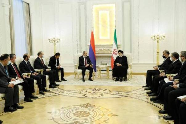 """Iranian leader hopeful of """"good and positive steps"""" during Pashinyan's premiership in Armenia"""
