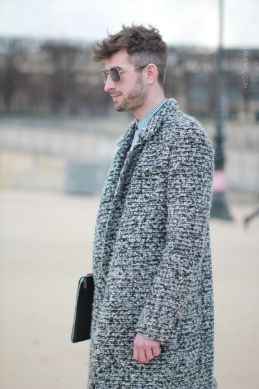 Men's Fall Fashion, street style, grey coats