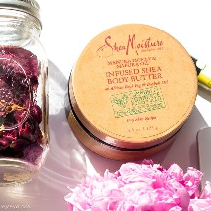Armenyl's list and photograph Shea Moisture: Body Butter by Armenyl.com