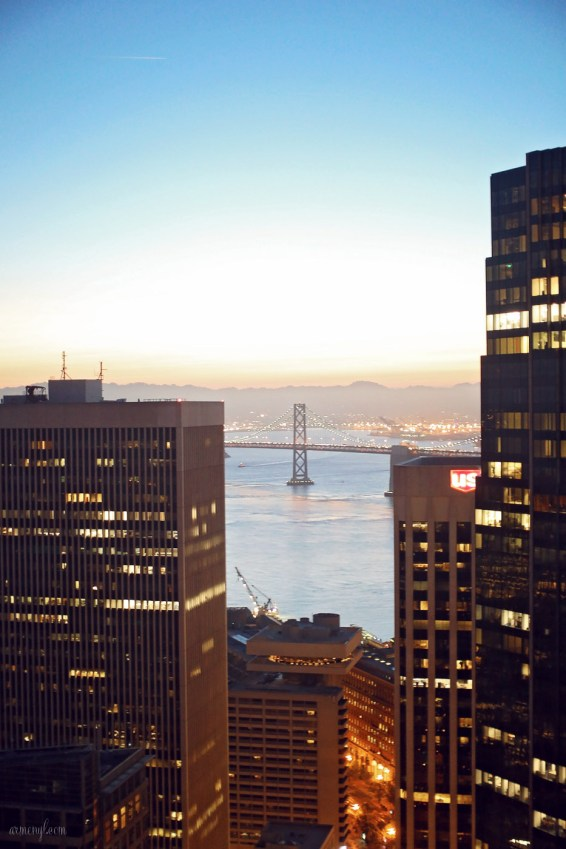 Loews Regency San Francisco Hotel rooms and views from the hotel photographed by Blogger Armenyl.com