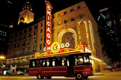 Chicago Tour Bus