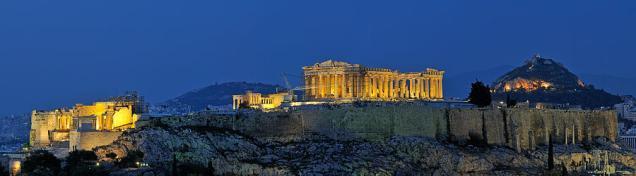 Athens Panoroma View