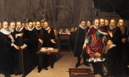 Allégorie Synode de Dordrecht