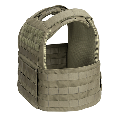 Fearless Plate Carrier MOLLE - Side View