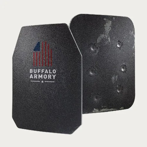 Buffalo Armory Star 647 Level III+ NIJ/DEA Certified Steel Rifle Armor Plates
