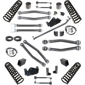 Synergy Jeep JK Stage-3 Suspension System   3″ Lift