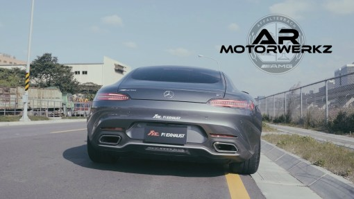 MERCEDES BENZ AMG GT FI EXHAUST