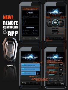 FI Exhaust Remote Eemote Controller And App iOS Valved OBD Code Reader
