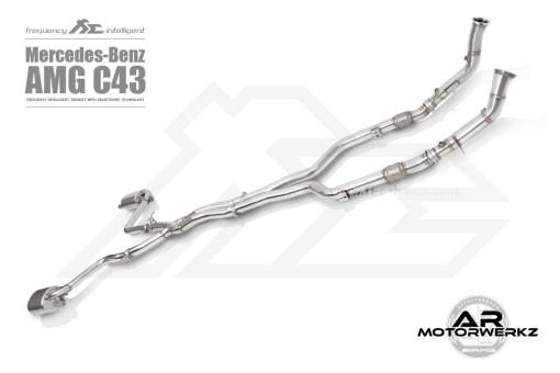 FI exhaust C43 AMG W205 full
