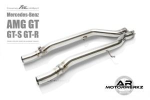 Fi Exhaust AMG GT GTS GTR C190 Mid Valved