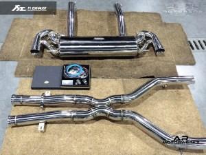 Fi Exhaust AMG SLS Full system