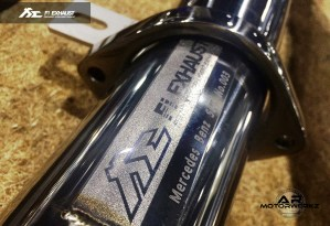 Fi Exhaust AMG SLS exhaust