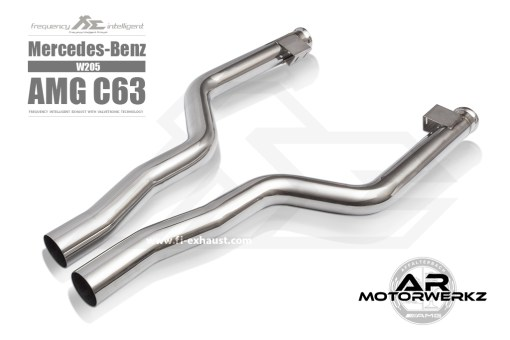 Fi Exhaust C63 AMG W205 front to mid
