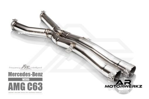 Fi Exhaust C63 AMG W205 mid