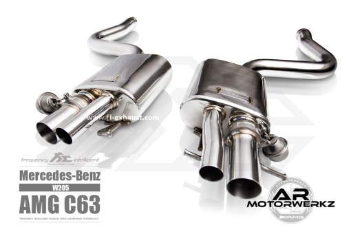 Fi Exhaust C63 AMG W205 muffler