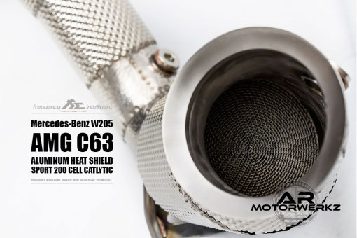 Fi Exhaust C63 AMG W205 sport 200