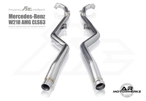 Fi Exhaust CLS63 AMG W218 downpipes