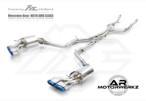 Fi Exhaust CLS63 AMG W218 full