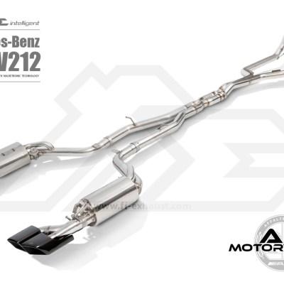 Fi Exhaust E63 AMG W212 Full