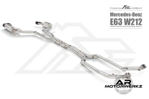 Fi Exhaust E63 AMG W212 Full Front