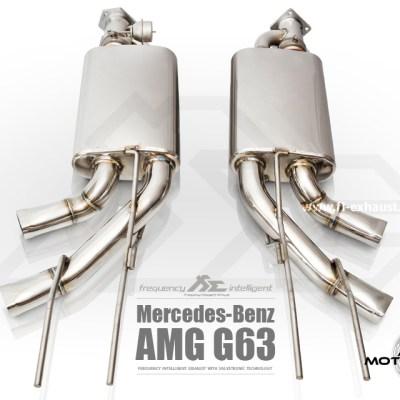 Fi Exhaust G63 AMG 2015+