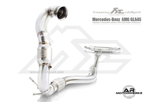 Fi Exhaust GLA45 AMG W156 Full Front