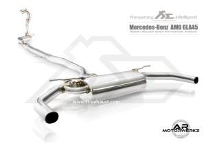 Fi Exhaust GLA45 AMG W156 Full