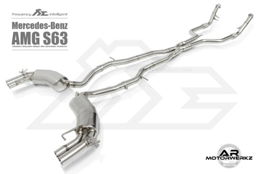 Fi Exhaust S63 AMG Coupe C217 Full