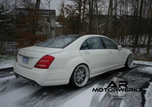 Mercedes Benz S63 AMG on BBS LMR'S