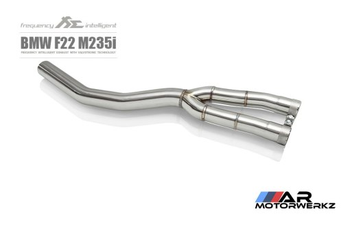 fi exhaust, m235i, valved, exhaust, f22