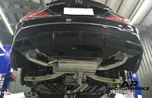 Mercedes Benz CLA45 FI Exhaust