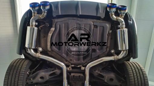 Mercedes C63 AMG W204 FI Exhaust