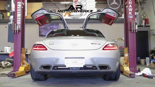 Mercedes SLS AMG FI Exhaust